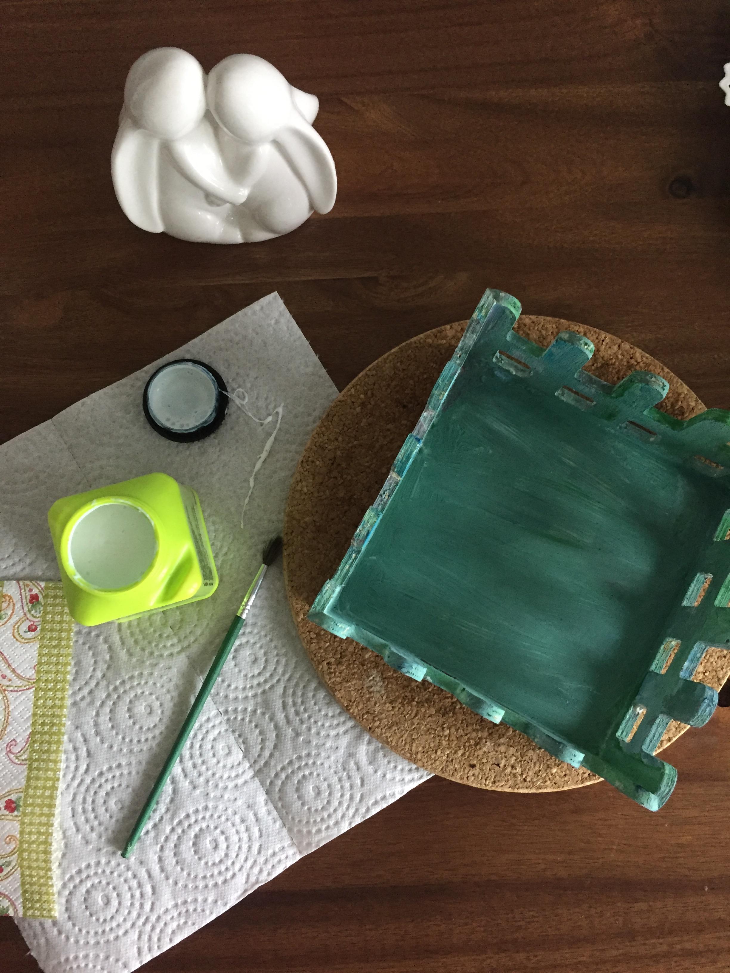 Mit der Serviettentechnik schnell und einfach Gegenstände verschönern