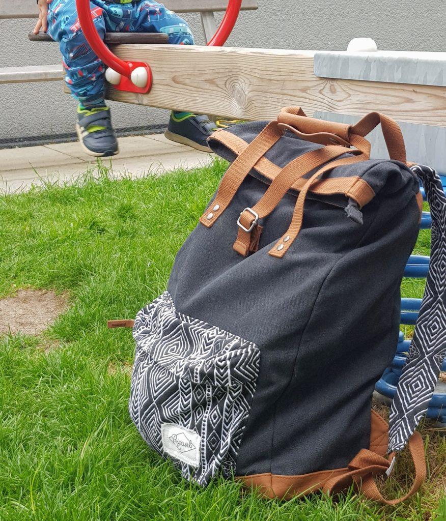 Mein neuer Begleiter: ein Toploader Rucksack mit Henkel